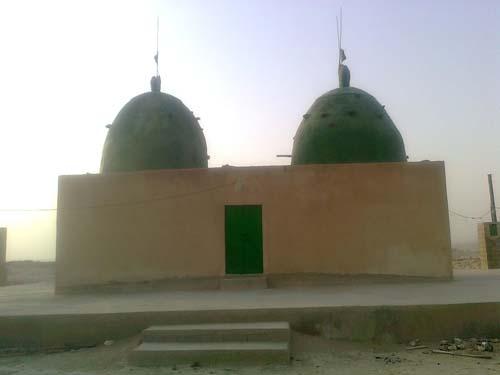 امامزاده شاه سلیمان و شاه اسماعیل در روستای هدکان